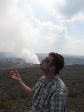 Chris and The Volcano