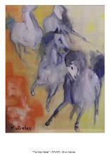 Grey Horse - Oil