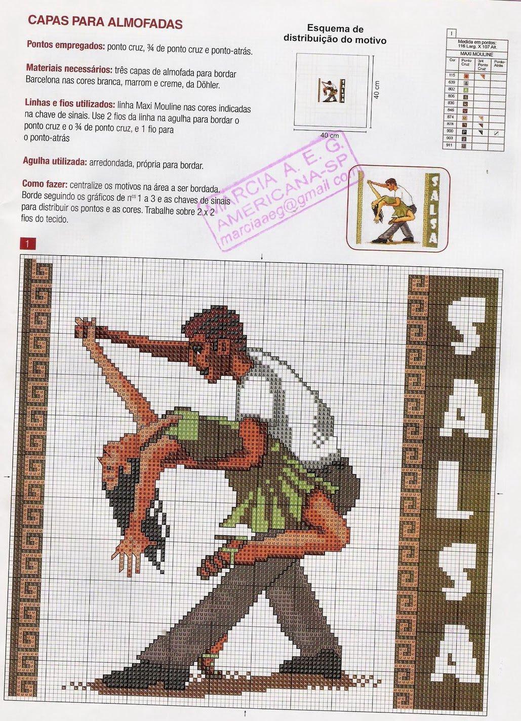 Схемы вышивки «танец» - Вышивка крестом 65