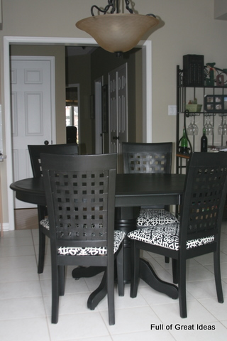 terrific idea light oak dining table. My amazing kitchen table and chair transformation  Full of Great Ideas