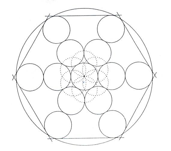 Mandalas Para Pintar: Mandala de las esferas