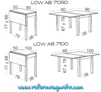 Medidas De Mesas De Cocina - Diseños Arquitectónicos - Mimasku.com