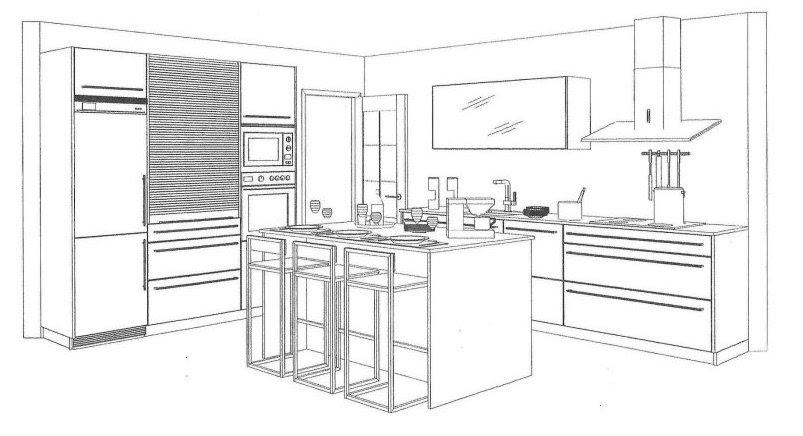 Una isla en la cocina ~ Reformas Guaita