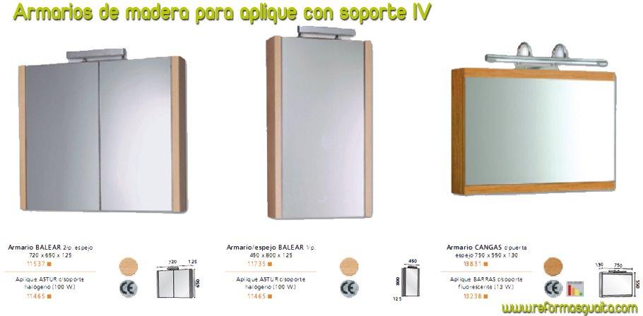 Armarios tipo camerino con espejo reformas guaita for Espejo tipo camerino
