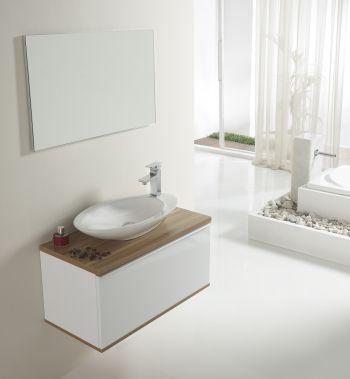Mini lavabos con mueble no renuncies al dise o por falta - Muebles de aseo ...