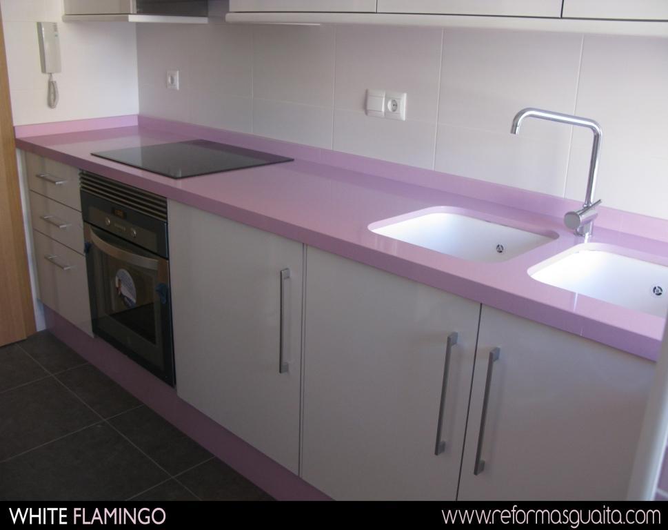 white flamingo una cocina muy fresca reformas guaita