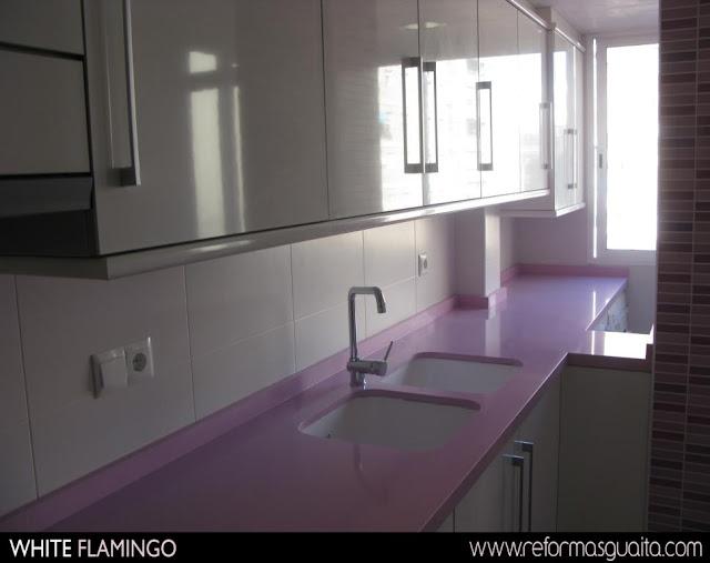 cocina rosa barbie