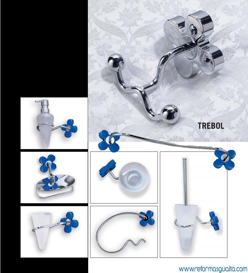 Accesorios De Baño Trebol:Serie TREBOL de accesorios de baño