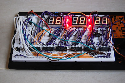 7-Segment Digital Clock