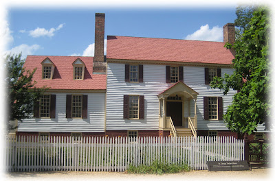 Historic home plans colonial williamsburg st george for Williamsburg home plans