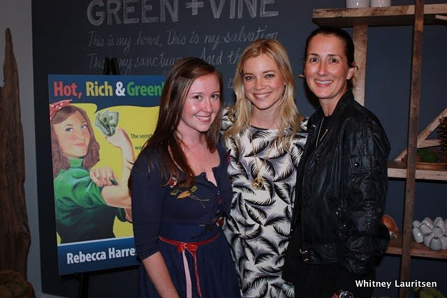 Featured in the New Book Hot, Rich & Green, Book launch 2
