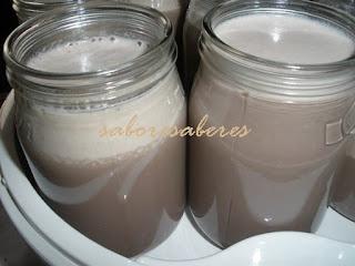Iogurte leite de arroz
