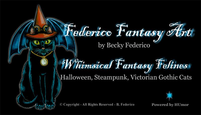 Federico Fantasy Art by Becky Federico