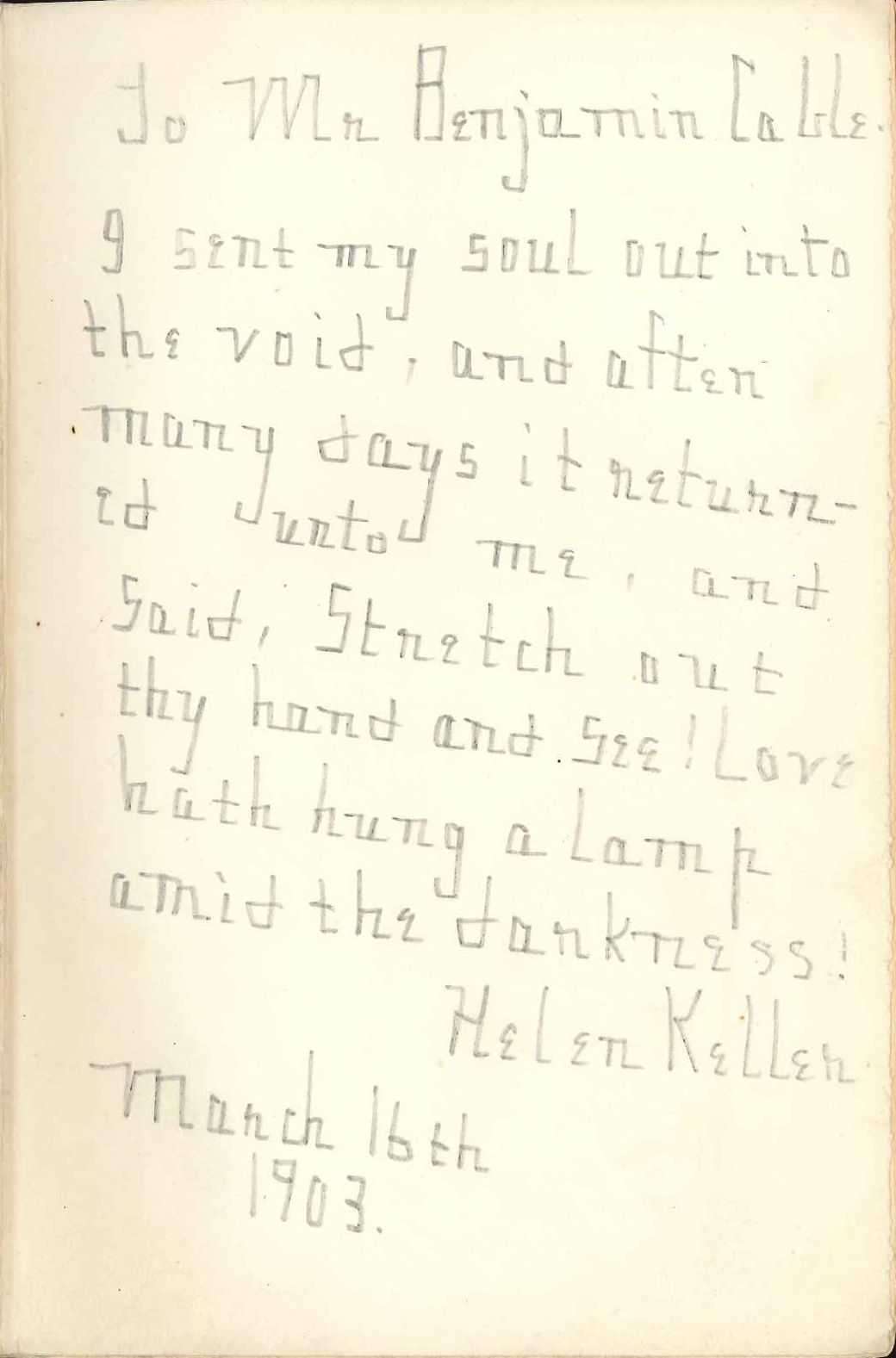 Free Essay On Helen Keller
