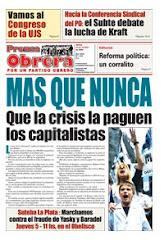 MAS QUE NUNCA: Qué la crisis la paguen los capitalistas