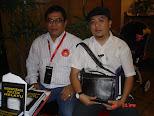 Bersama Penulis Politik Sabah,Musli Oli