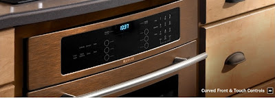 Jenn Air oil rubbed bronze kitchen appliance suite
