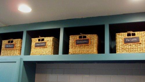 Chalkboard Tags For Baskets