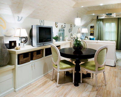 Remodeled Attic By Interior Designer Candice Olson From HGTVs Divine Design