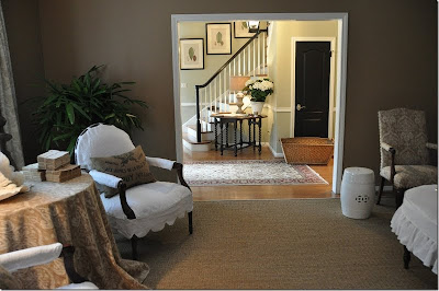 living room designed by Joni of Cote de Texas