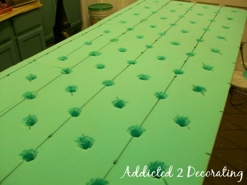how to make a diamond tufted upholstered headboard, Headboard designs