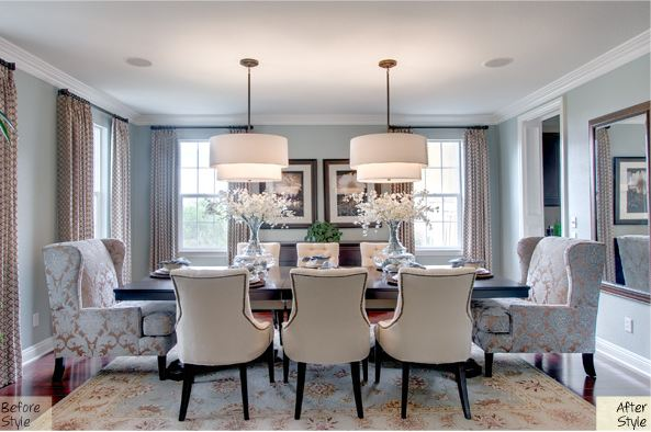 Brilliant Beautiful Dining Rooms Awesome Fancy Room Chairs Ideas