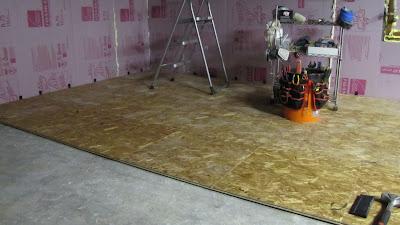 basement subfloor