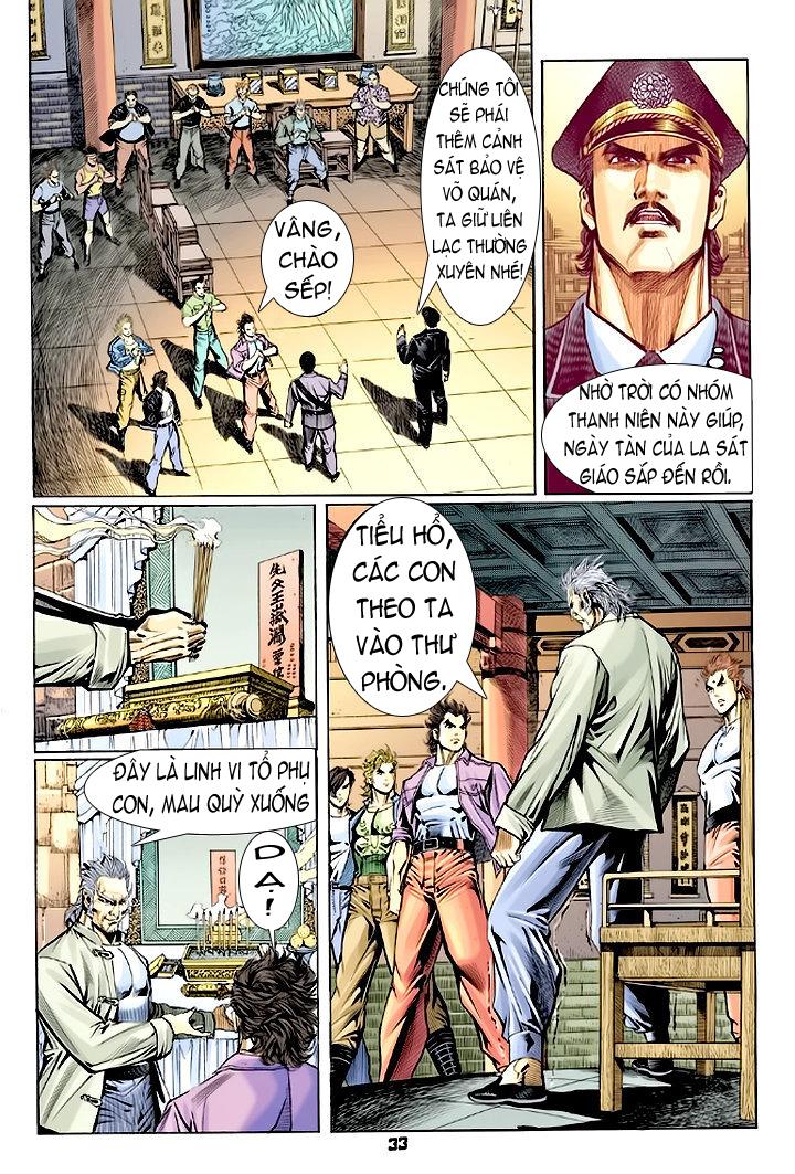 Tân Tác Long Hổ Môn chap 64 - Trang 33