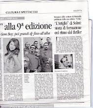 articolo della Gazzetta di Modena 28-12-2009