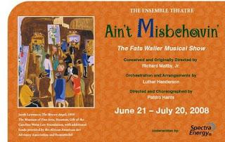 Ensemble Theater showbill