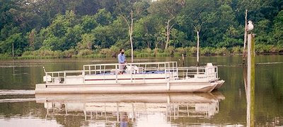boat on bayou