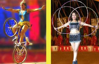 circus peformers