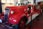 Vintage fire truck at Houston Fire Museum