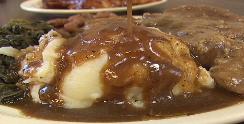 thick  soul food gravy