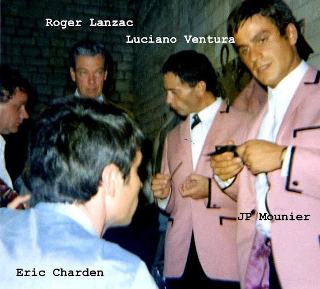 Discution avec E.Charden et R. Lanzac 1965