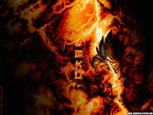 dragon ball fire