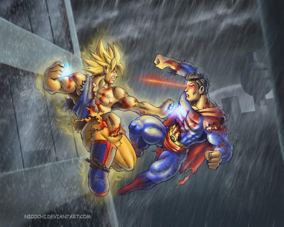 goku ssj3 vs superman - photo #15