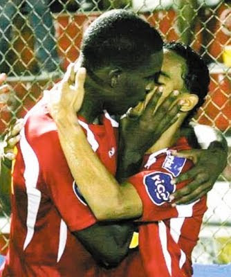 The You Can Kiss On But Not Off Field Pele