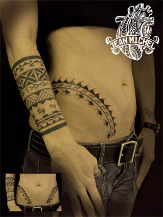 Tatouage polynesien polynesian tattoo samoa - Tattoo avant bras ...