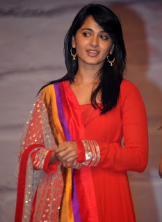 Anushka Shetty in Desginer Salwar suit, Designer Women Wear