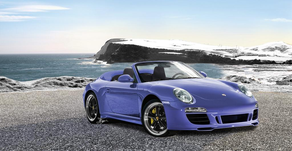 New Porsche 911 Speedster 2011 Exclusive And Limited Car
