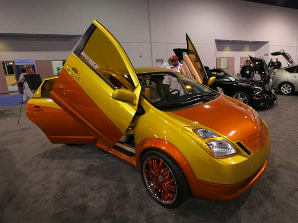 Modified Toyota Prius with a touch of TRD | Car Under 500 ...