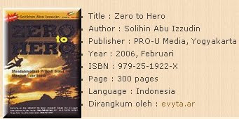 BUKU ZERO TO HERO GRATIS