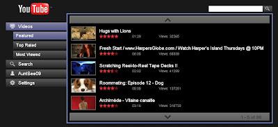 YouTube on TV