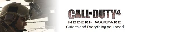 Call of Duty 4 Guide