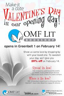 OMF Lit Bookshop opens new branch in Greenbelt 1