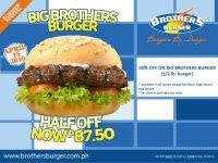 Brothers Burger Summer Special (April 15 only!)