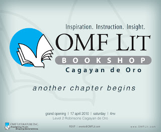 OMF Lit Bookshop opens in Cebu and Cagayan de Oro