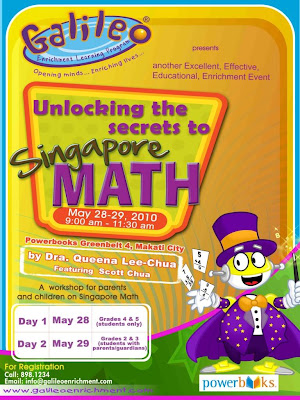 Unlock the Secrets to Singapore Math this May 28 and 29