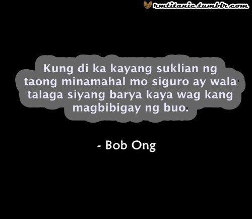 Bob Ong Quotes Tagalog